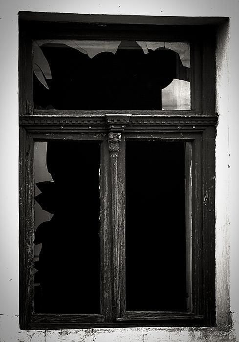 Window Photograph -  Broken Window by Calinciuc Iasmina