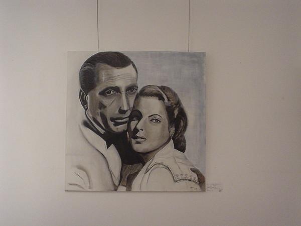 Porter Painting -  Casablanca by Maria  Da Assuncao Lima
