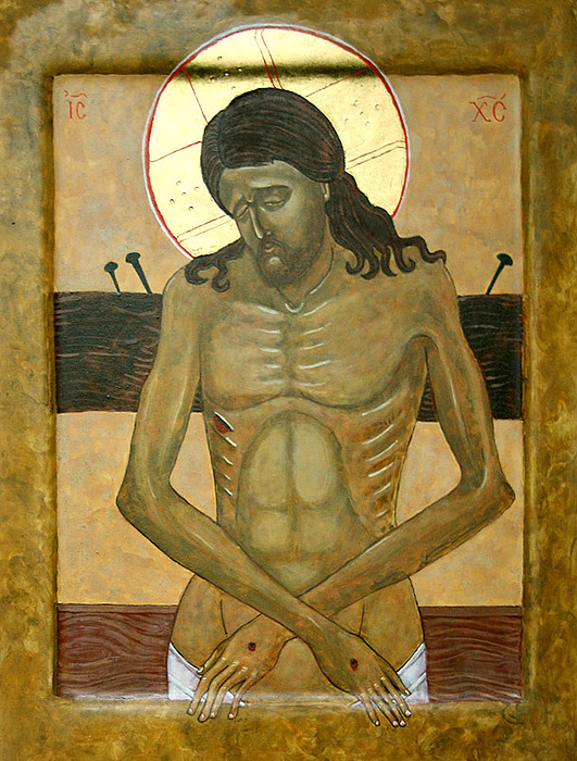 Jesus Christ Painting -  Do Not Cry For Me by Phillip Schwartz