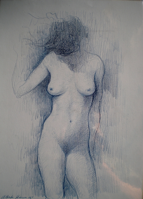 Naked Drawing -  Espacio Intimo  by Alberto Herrera Arana