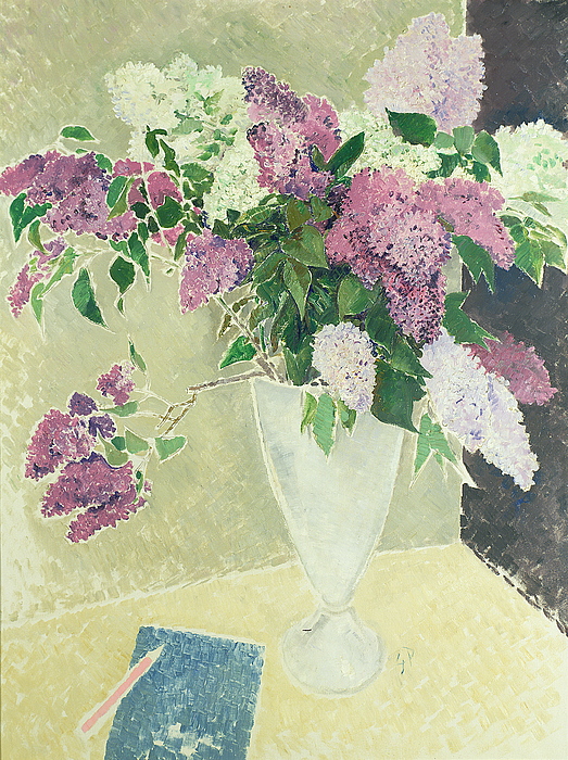 Lilacs Painting -  Lilacs by Glyn Warren Philpot
