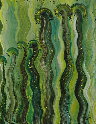 Oil Painting -  Rhythms by Ione Citrin
