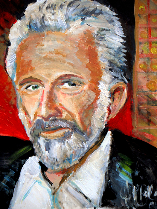 Van Gogh Painting -   The Most Interesting Man In The World by Jon Baldwin  Art