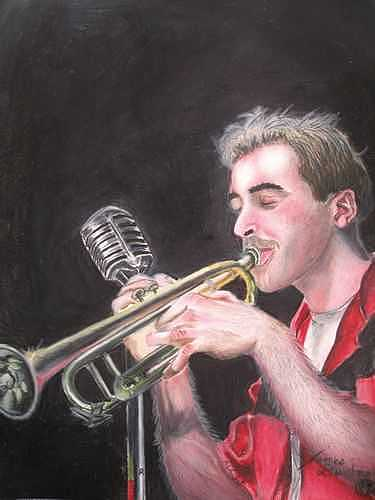 The Young Chet Baker Drawing by Portland Art Creations