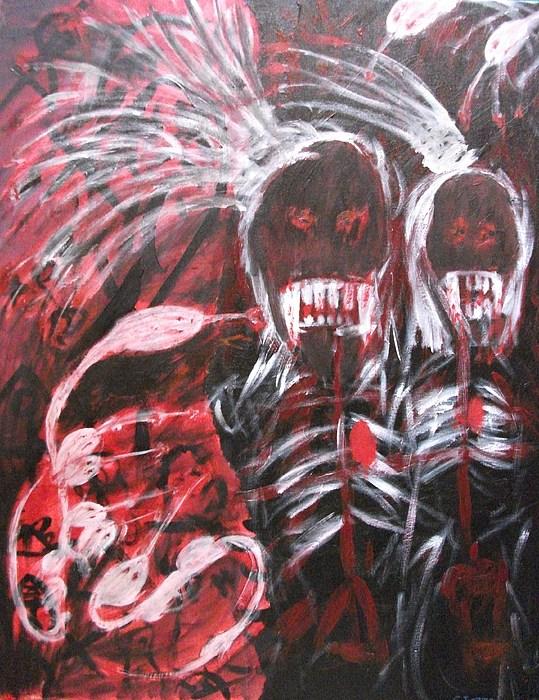 Vampire Painting -  Vengence by Randall Ciotti