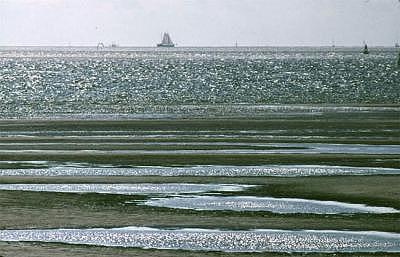 Seascape Photograph - 06-005 Sandy Plain by PJ Steinmeijer