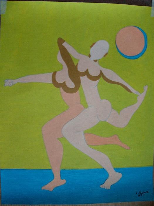 0il9 Painting by Maria do carmo Cid peixeiro