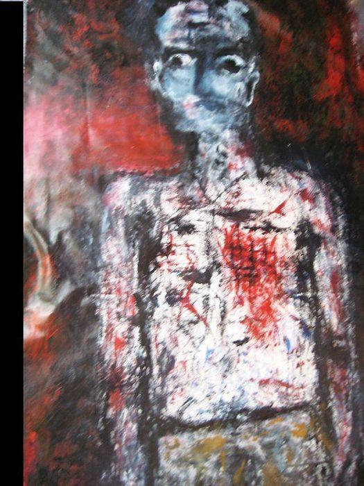 Symbolik Painting - -pain- by Despina Papadopoulou