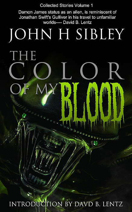 Poster Digital Art -  The Color Of My Blood by John Sibley