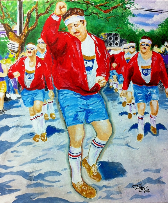 610 Stompers Painting - 610 Stompers by Terry J Marks Sr