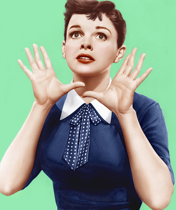 1950s Portraits Photograph - A Star Is Born, Judy Garland, 1954 by Everett