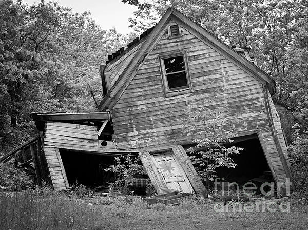 Canon Photograph - Abandoned  by Ricky L Jones