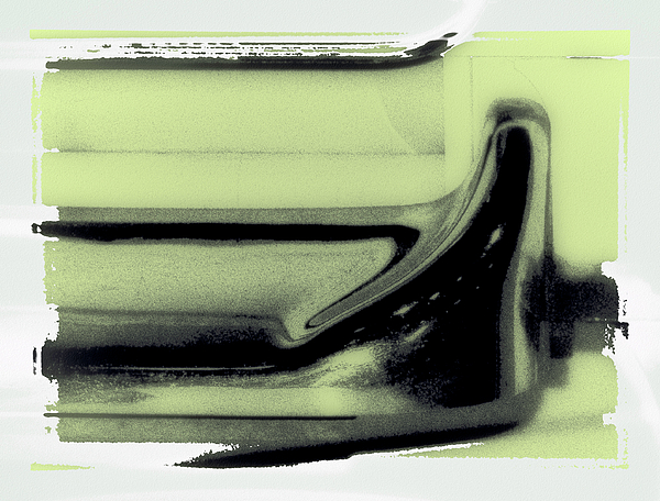 Museum Piece Photograph - Abstract Washer by HE Webb
