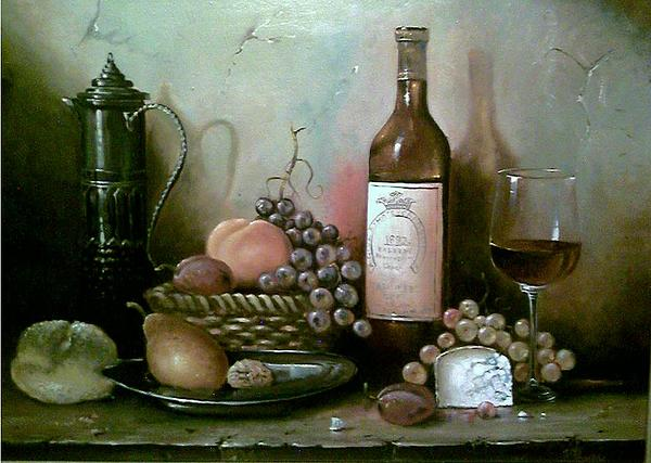 Painting Painting - Abundance by Alexander Fomin