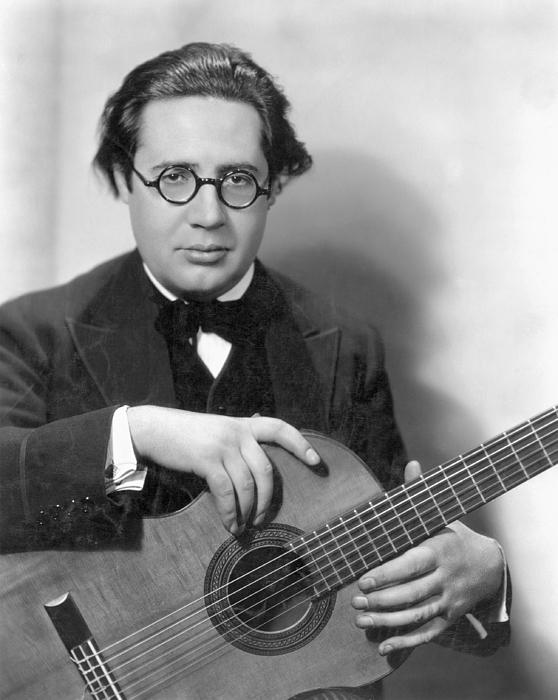 1928 Photograph - Andres Segovia by Granger
