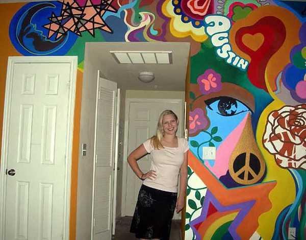 Austin Painting - Art Deco On Acid    Art by Kaley LaRose
