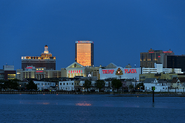 Atlantic City Photograph - Atlantic City Skyline by John Greim
