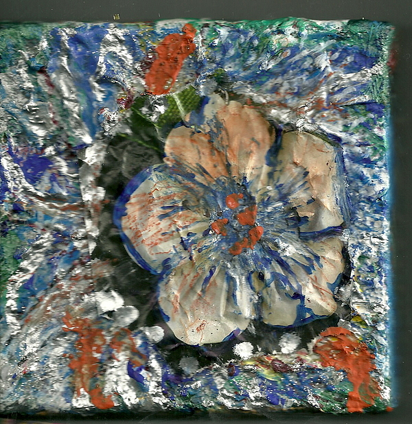 Flores Painting - Attention Impasto Lovers by Anne-Elizabeth Whiteway