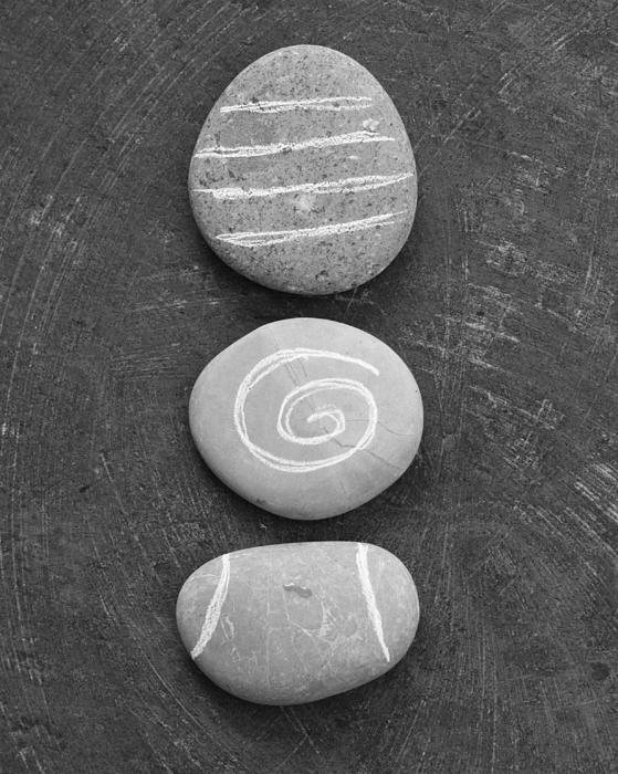 Stones Mixed Media - Balance by Linda Woods