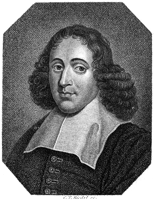 17th Century Photograph - Baruch Spinoza (1632-1677) by Granger