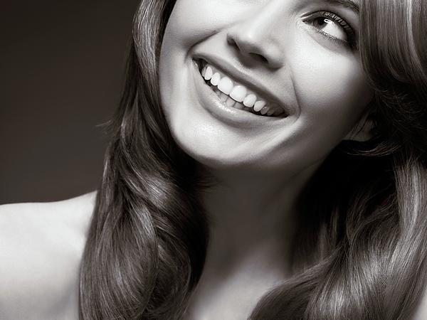 Beauty Photograph - Beautiful Young Smiling Woman by Oleksiy Maksymenko