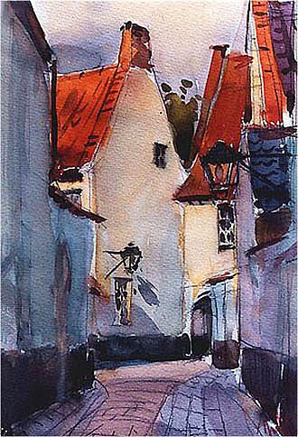 Begijnhof In Sunlight Painting by Davit Mirzoyan