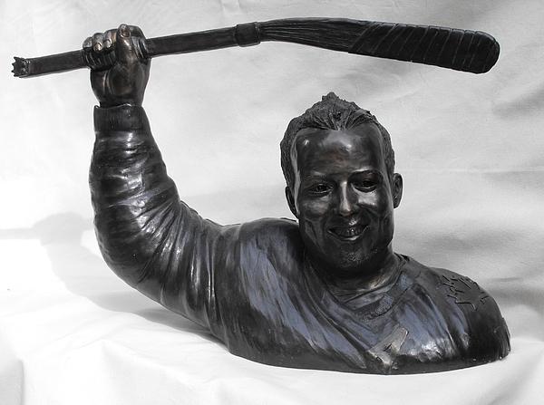Bronze Sculpture - Billy Bridges by JA Fligel