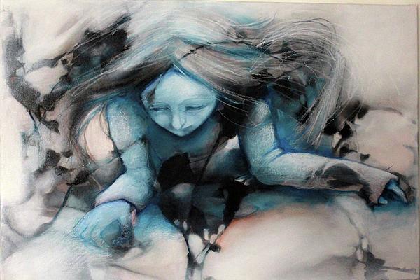 Agreste Painting - Blackbough by Barbara Agreste