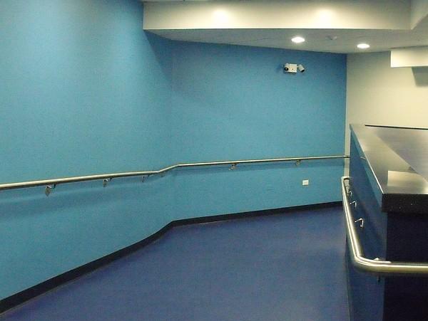 Blue Photograph - Blue Corridor by Anna Villarreal Garbis