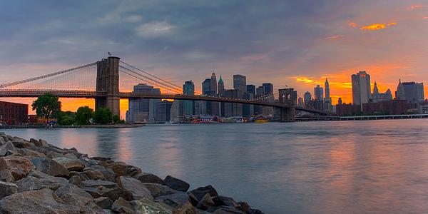 Brooklyn Photograph - Brooklyn Sunset by David Hahn