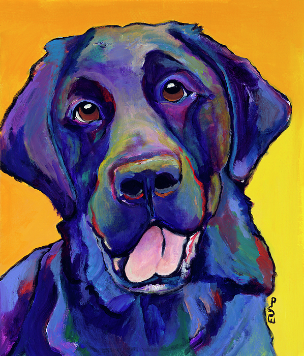 Hunting Dogs Painting - Buddy by Pat Saunders-White