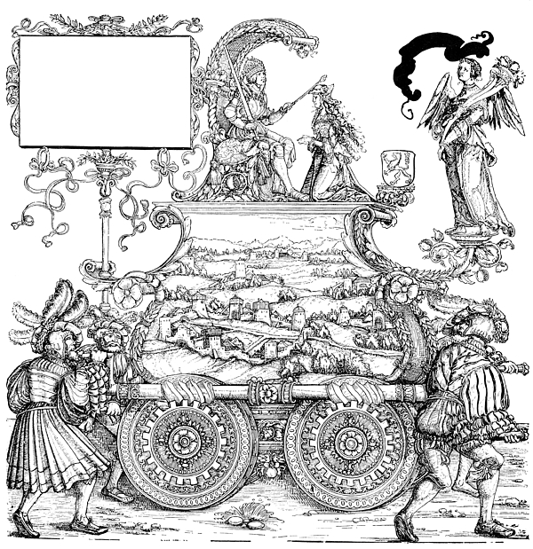 16th Century Drawing - Burgkmair - Maximilian by Granger