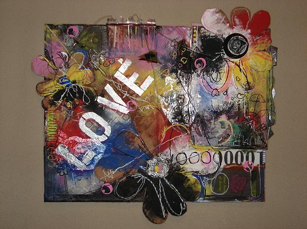 Canvas Abstract Pop Art Urban Color Graffiti Painting 1