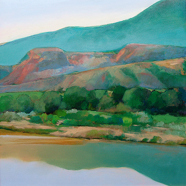 Chama River Painting - Chama River by Cap Pannell