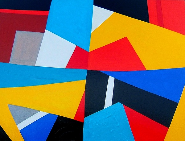 Abstract Painting - Closing Time by Dick Sauer