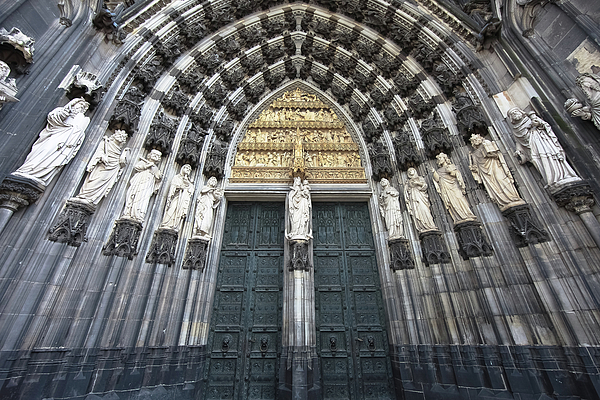Cologne Photograph - Cologne Germany  The Cathedral by Nicole Riley
