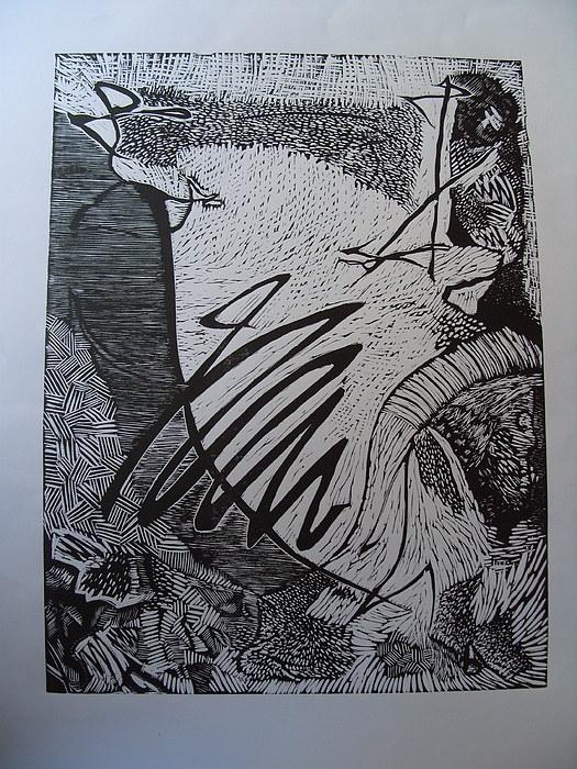 Composition Print by Zarko Stevkovski