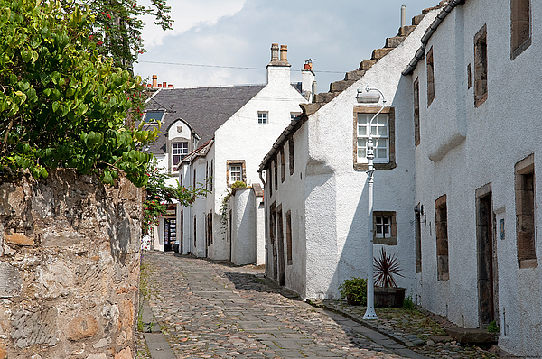 Scotland Photograph - Culross by Grant Muirhead