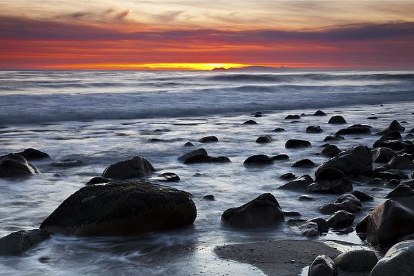 Beaches Photograph - Deer Creek Canyon Sunset by Greg Clure