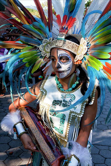 Day Of The Dead Photograph - Dia De Los Muertos - Day Of The Dead 10 15 11 Procession by Robert Ullmann
