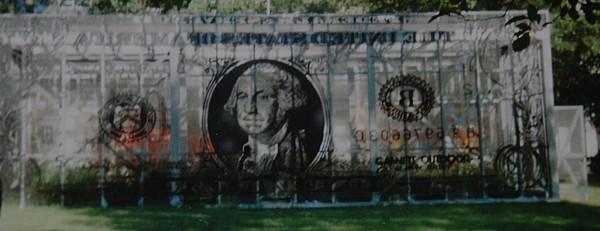 Park Photograph - Dollar Bill by Rob Hans