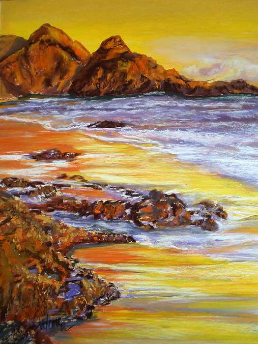 Tides Painting - Ebb And Flow by Cathy Weaver