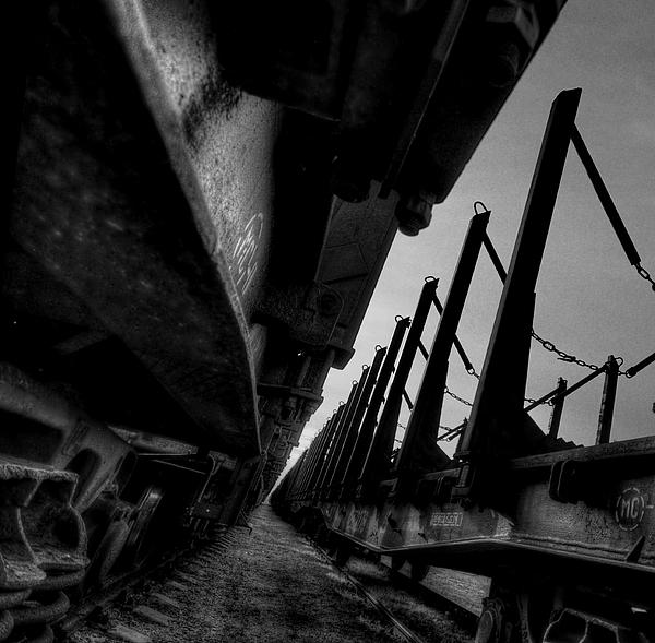 Train Photograph - Empty by Deividas Kavoliunas