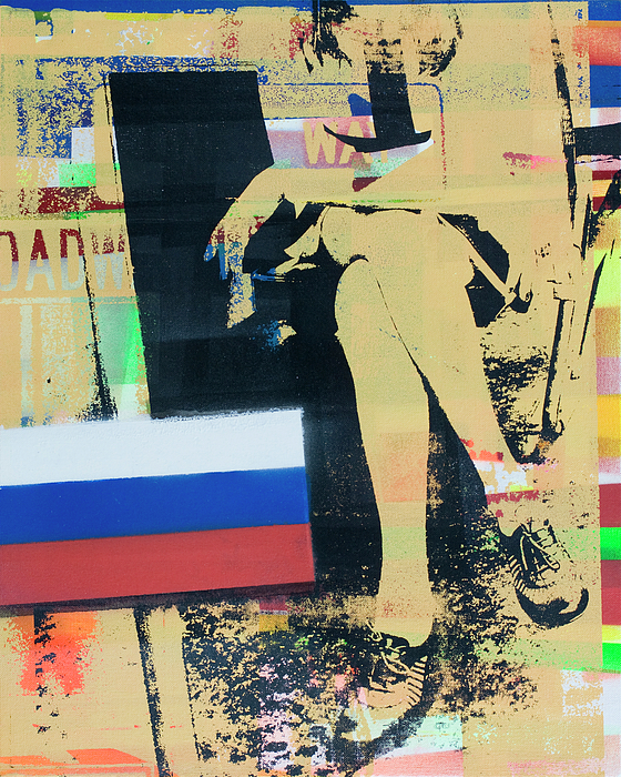 Russia Mixed Media - Exiled by Shay Culligan