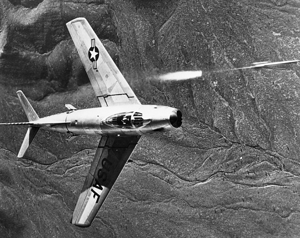 1951 Photograph - F-86 Jet Fighter Plane by Granger