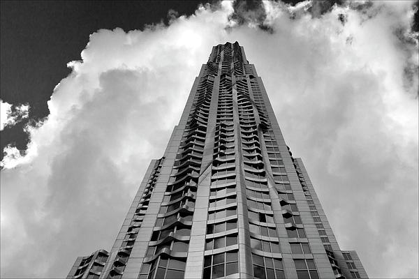 Frank Gehry Photograph - Frank Gehry High Rise Lower Manhattan by Robert Ullmann