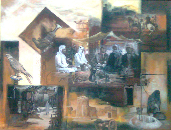 Old Painting - From The History by Jaffo Jaffer