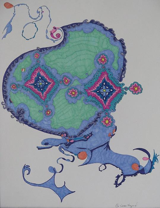 Genie Mixed Media by James Sheppardiii
