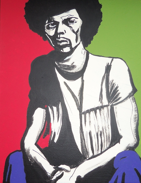 Human Form Painting - Gil Scott-heron Pieces Of A Man by Otis L Stanley
