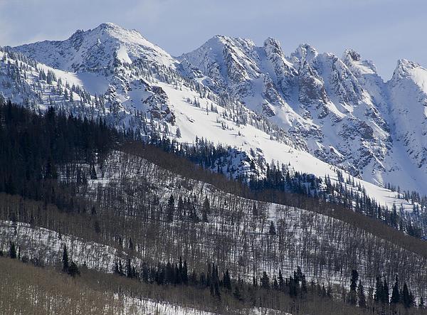 Colorado Photograph - Gore Mountain Range Colorado by Brendan Reals